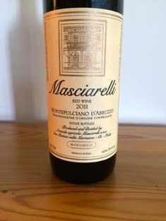 2011 Masciarelli Montepulciano d'Abruzzo